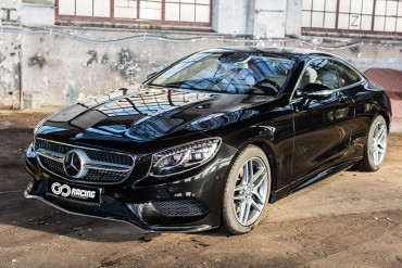 Jazda Mercedesem S500 Coupe