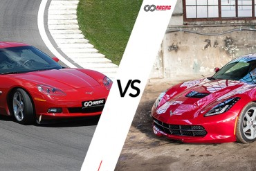Jazda Chevrolet Corvette C6 vs Chevrolet Corvette C7