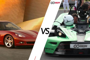Jazda Chevrolet Corvette C6 VS KTM X-BOW
