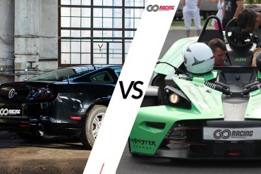 Jazda Ford Mustang (14') vs KTM X-Bow