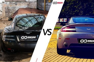 Aston Martin DB9 13' VS Aston Martinem V8 Vantage