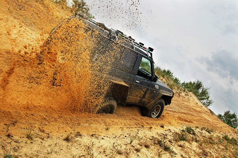 Jazda OFF ROAD 4x4 - go-racing.pl
