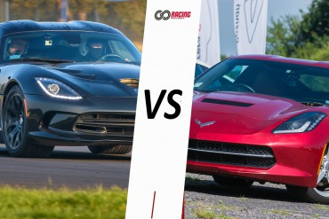 Jazda Dodge Viper GTS vs Chevrolet Corvette C7