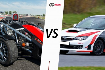 Ariel Atom vs Subaru STI Turbo