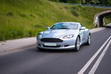 Jazda Aston Martinem DB9 2013
