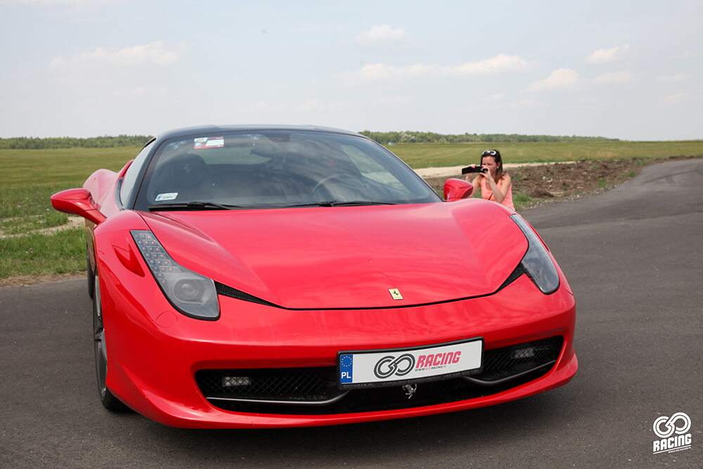 Ferrari 458 italia - Moto park Ułęż