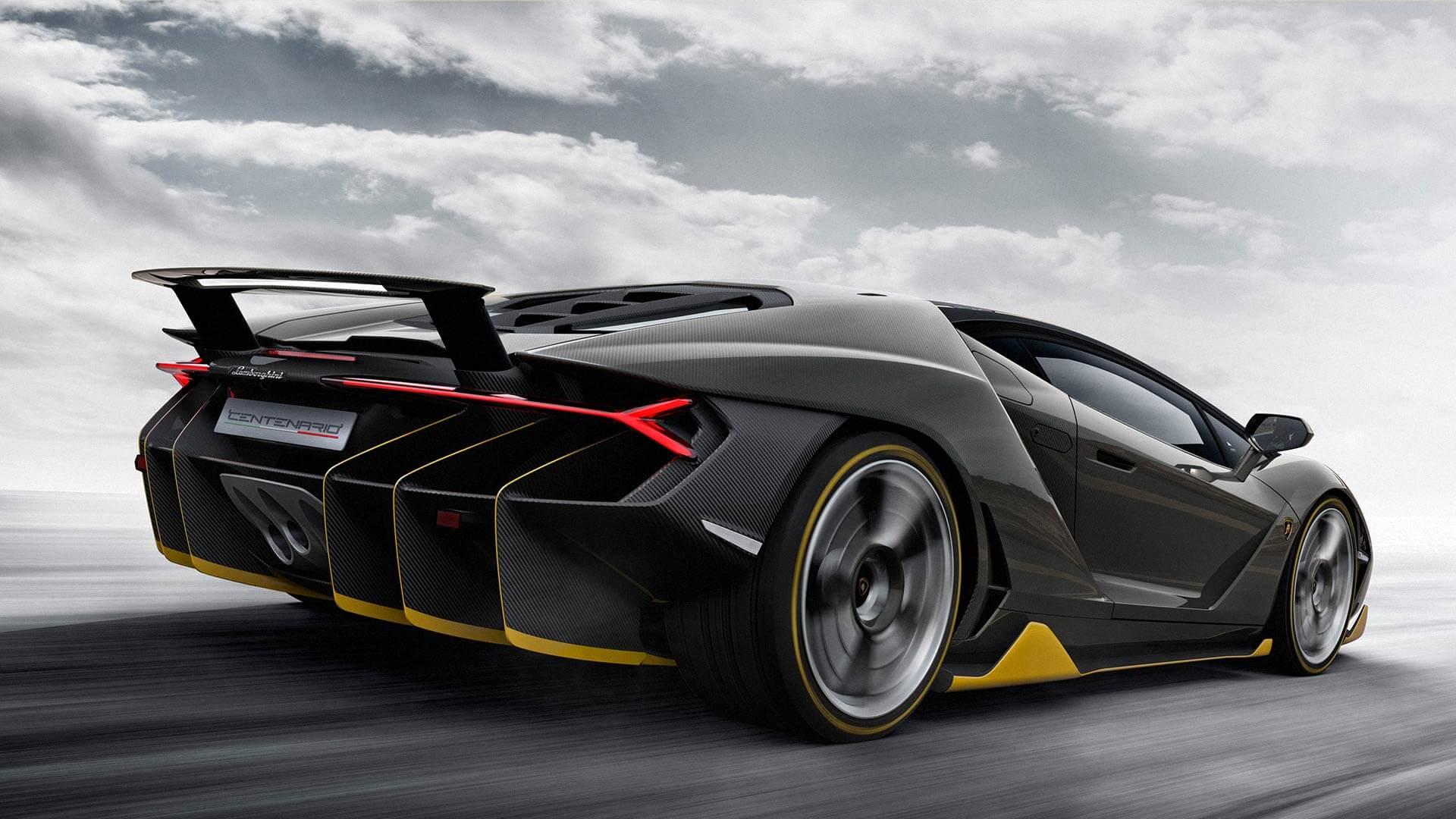 Lamborghini Centenario top