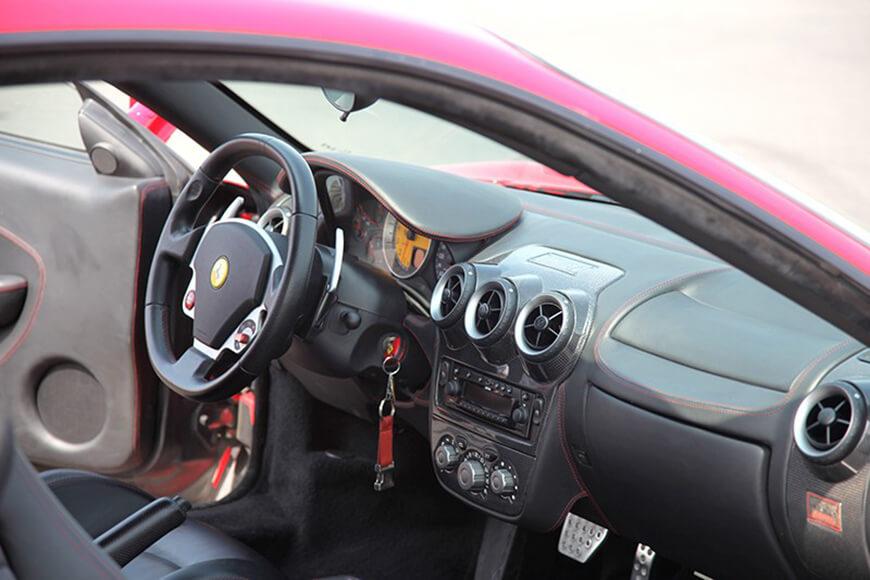Jazda Ferrari F430 - środek