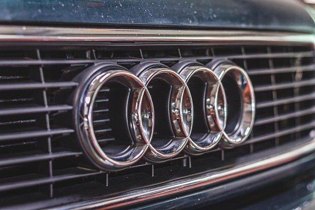 marki samochodów — logo audi