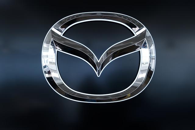 logotypy samochodów — mazda