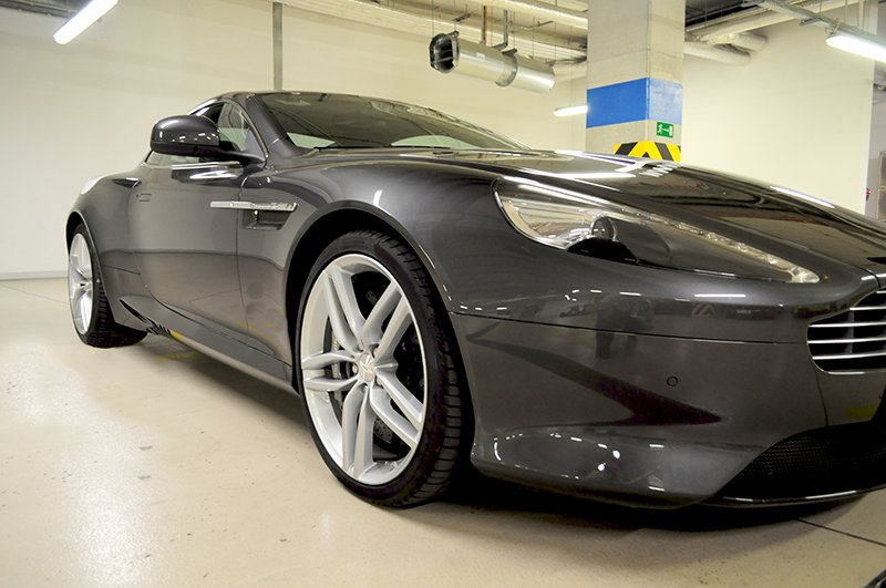 Aston Martin DB9 do ślubu