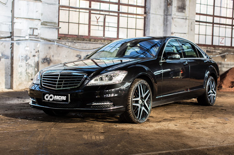 Mercedes S400 Hybrid do ślubu