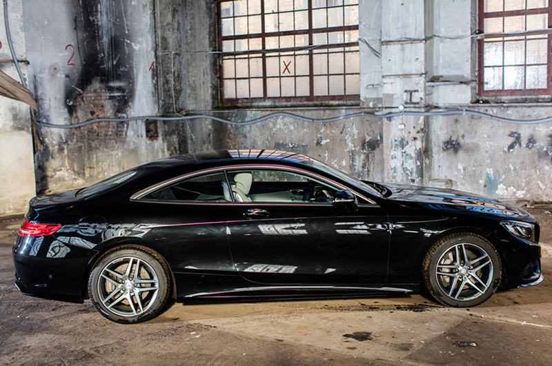 Mercedes s500 Coupe do ślubu